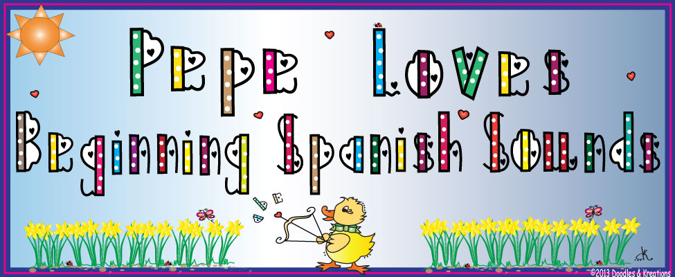 Teaching Spanish Beginning Sounds