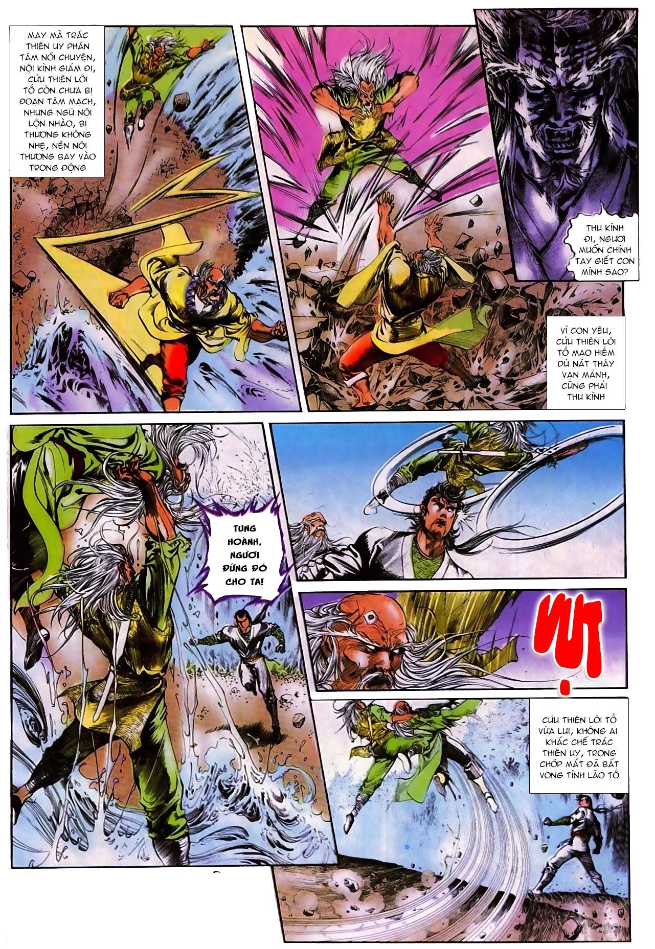 Thiết Tướng Tung Hoành chap 270 - Trang 13