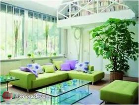 Green Color In Details Of Interior Designs 5