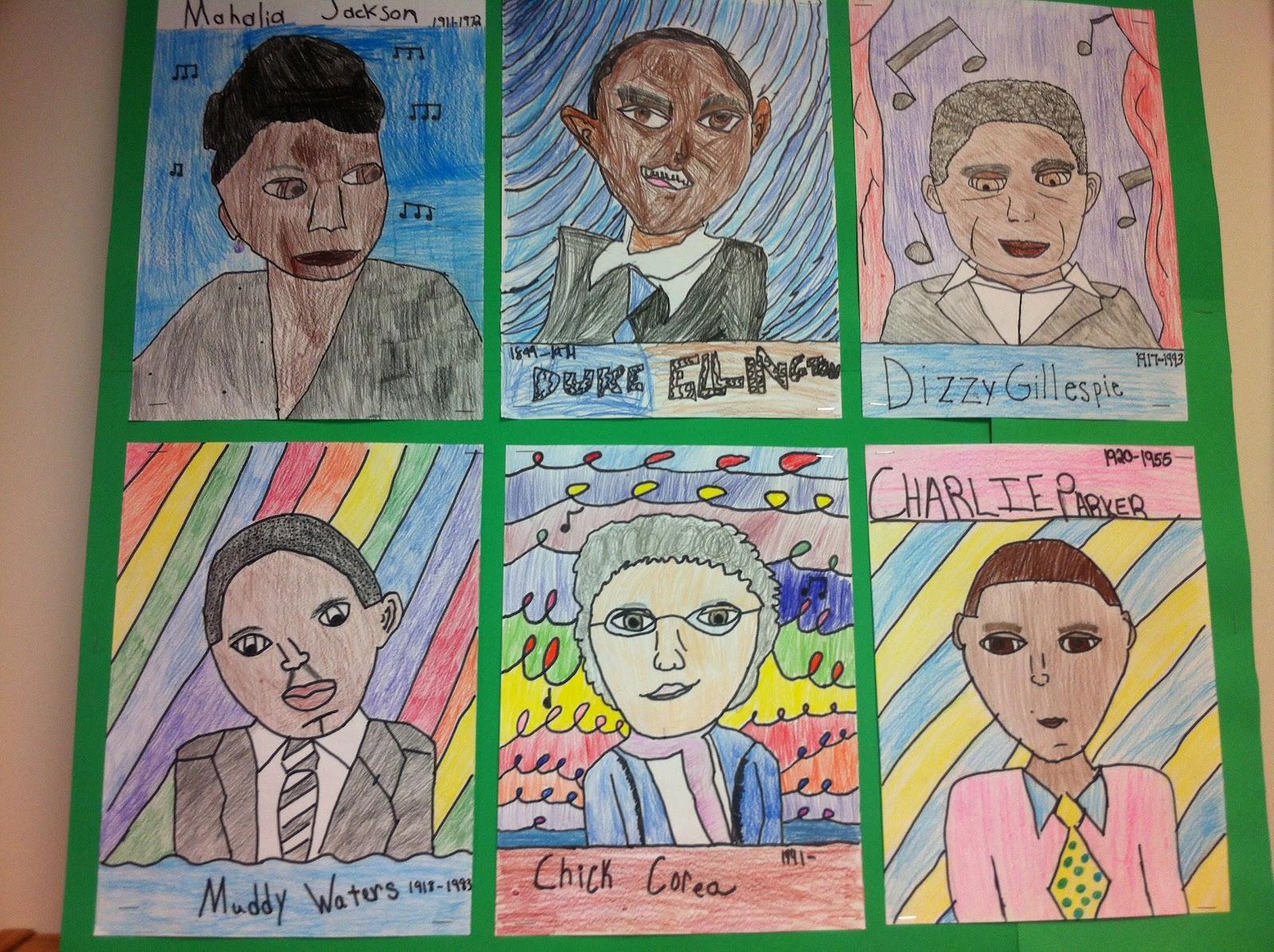 Apex Elementary Art Jazzed Up
