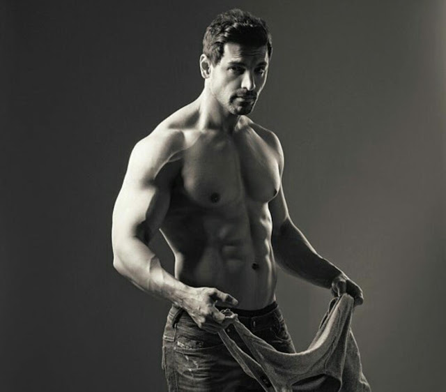 John Abraham Body Building HD Wallpaper