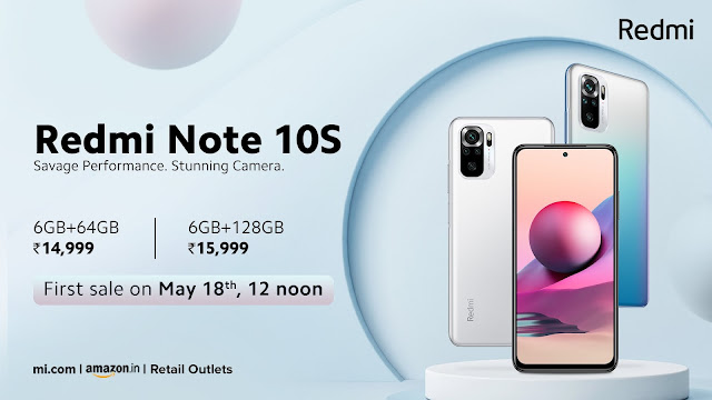 Redmi Note 10S launched along with Redmi Watch - Check Prices, Features, and Specs   TechNeg