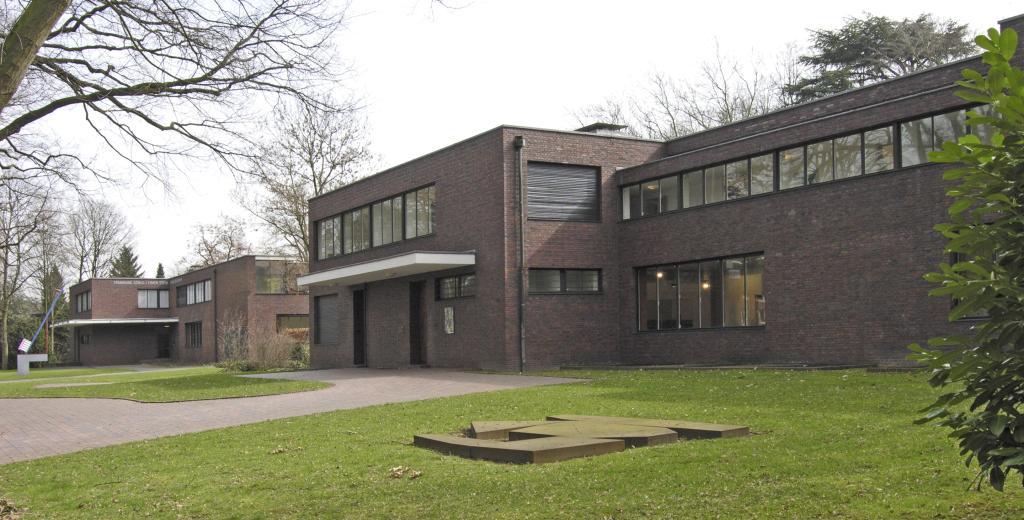 villa del fabricante de seda hermann lange mies van der rohe krefeld 1928 revista. Black Bedroom Furniture Sets. Home Design Ideas