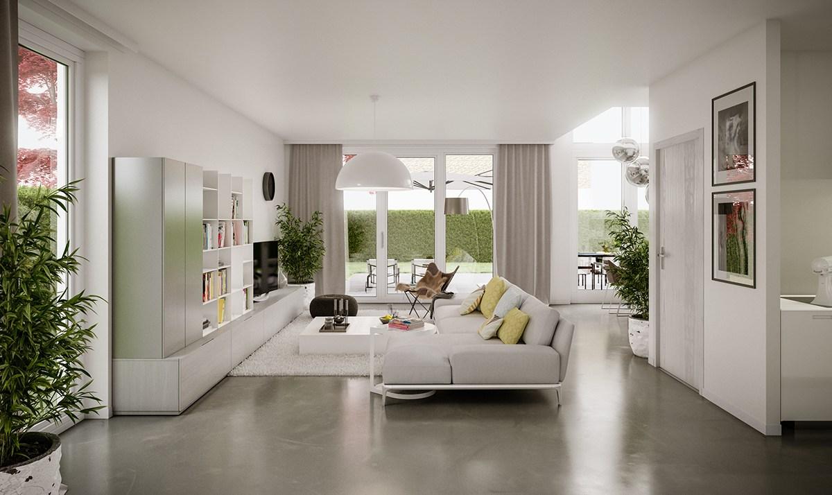 5 Wohnzimmer, die stilvolle moderne Design-Trends zu demonstrieren ...