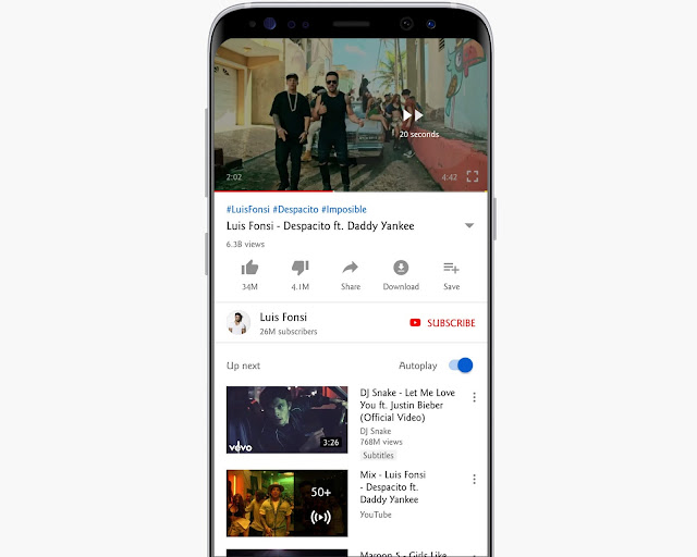 Double Tap To Seek - YouTube Features, Tips And Tricks