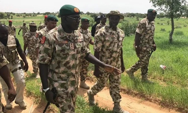 BREAKING!!! Buratai Relocates To Sambisa Forest, Vows to Annihilate Boko Haram