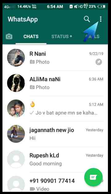 Whatsapp me wallpaper kaise lagaye in hindi.