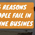 5 Reasons Online Businesses Fail