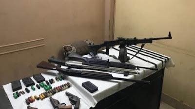الأمن العام يضبط 7 أسلحة نارية في حملة أمنية بأسيوط