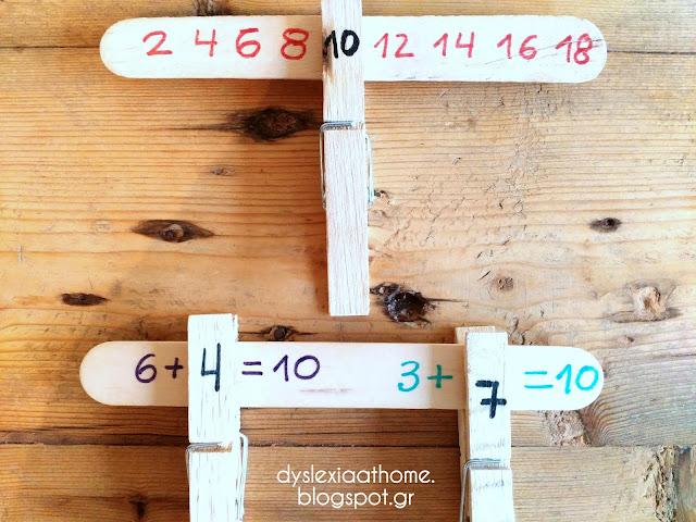 μαθηματικά, μανταλάκια, αριθμοί, δυσλεξία