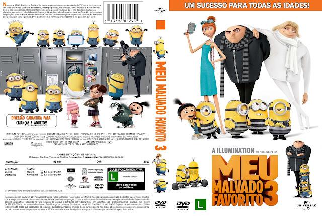 Capa DVD Meu Malvado Favorito 3 [Custom]