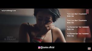 Jinke Liye lyrics B praak nehakakkar