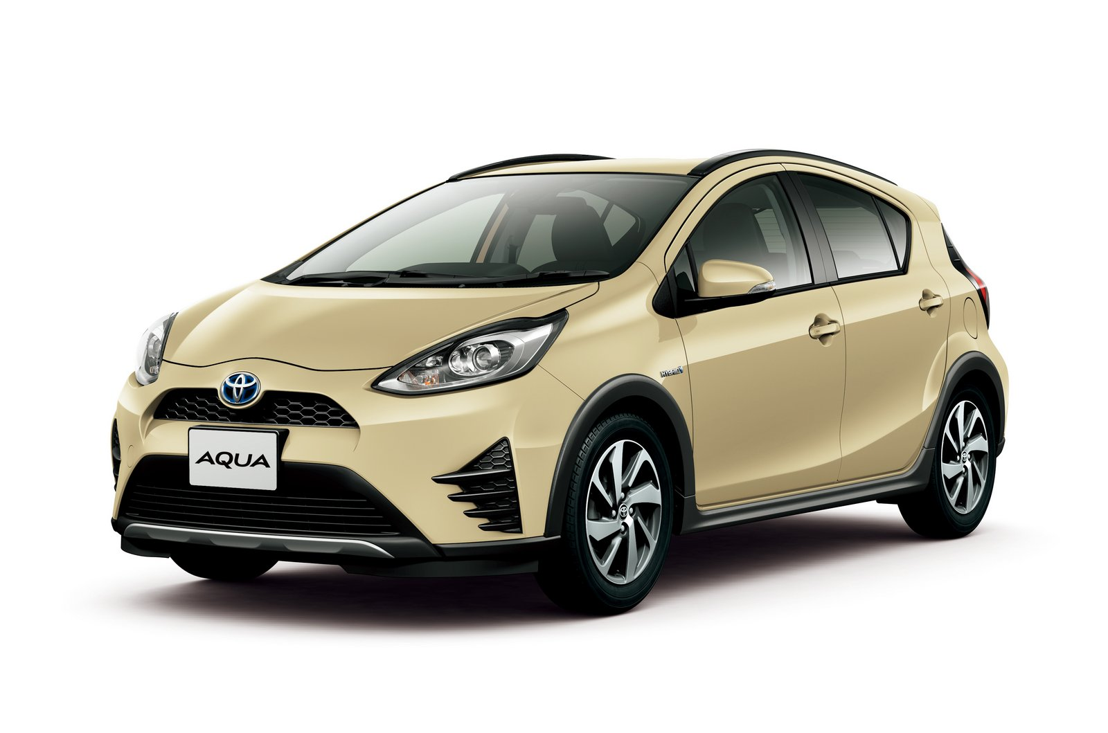 Toyota Aqua Aka The Prius C Gets A Facelift And A New
