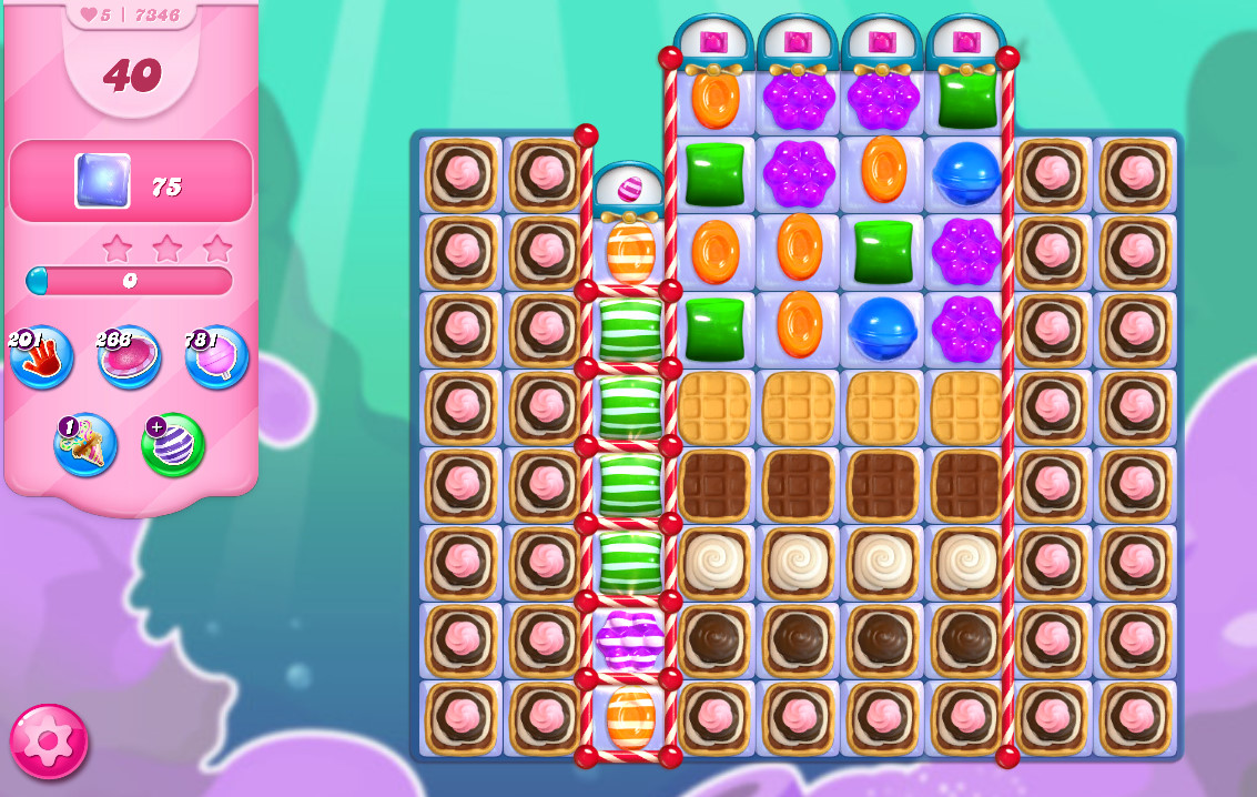 Candy Crush Saga level 7346