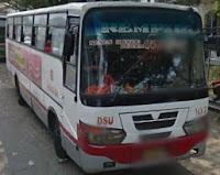 Bus DSU 157 jurusan Poris Tangerang - Senen
