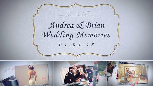 Wedding Memories Album NO 1