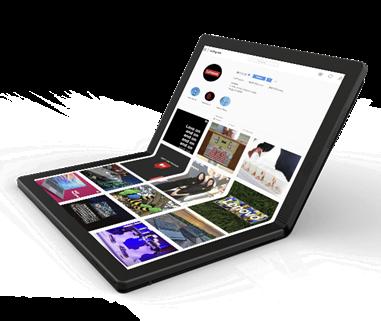 Lenovo ™ apresenta o primeiro portátil dobrável do mundo da gama ThinkPad™ X1