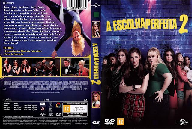 Capa DVD A Escolha Perfeita 2