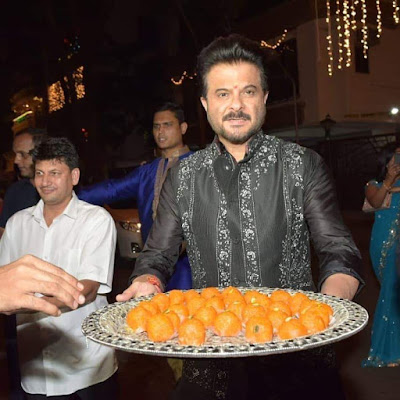 Anil Kapoor at Diwali Bash