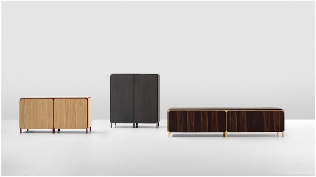 The Frame sideboard by Alain Gilles