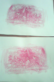 pete rosii, ca desen, incercari de incepator
