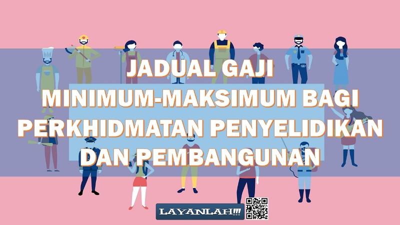 Jadual Gaji Minimum Maksimum Bagi Perkhidmatan Penyelidikan Dan Pembangunan Dalam Perkhidmatan Awam Malaysia Layanlah Berita Terkini Tips Berguna Maklumat