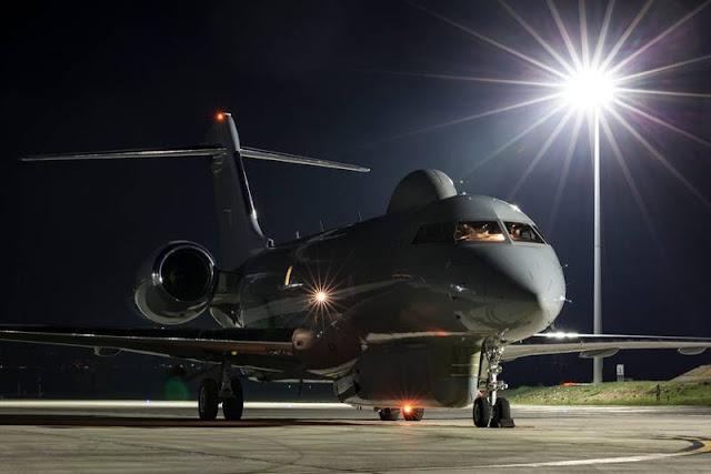 RAF Sentinel last flight