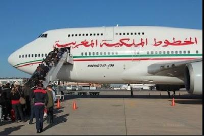 """مسافر مغربي يتسبب في إنزال طائرة """"لارام"""""""