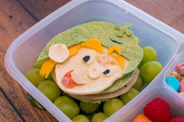 Lucky the Leprechaun St. Patrick's Day Food Art Lunch Recipe