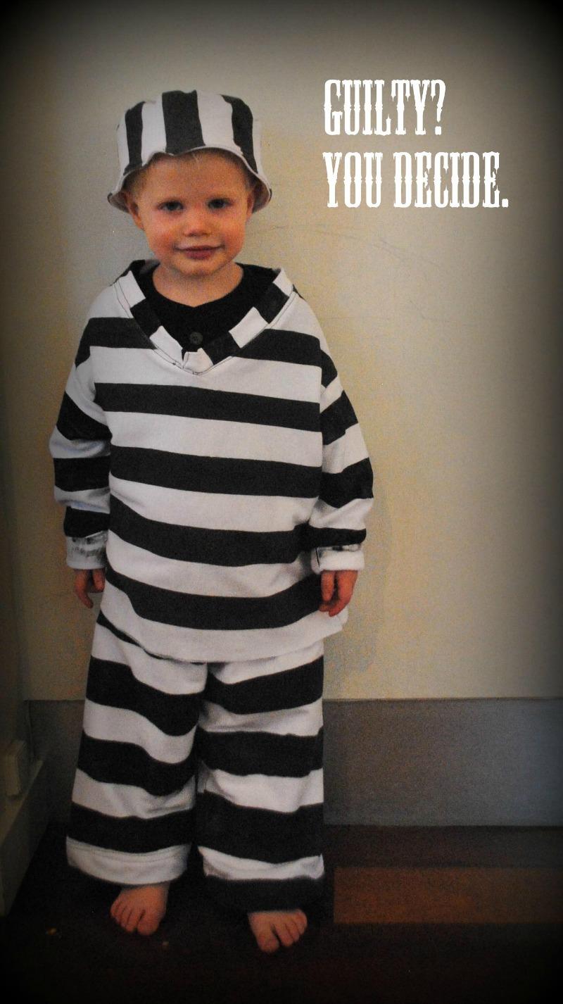 diy jailbird costume  sc 1 st  Andreau0027s Notebook & DIY Jailbird Costume Tutorial - Andreau0027s Notebook