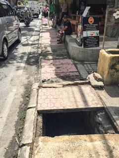 Bali Sidewalk