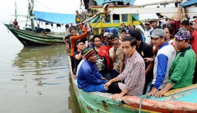 Nelayan Masih Sengsara, Janji Jokowi Tak Kunjung Direalisasikan