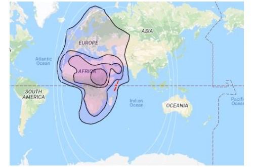 Satellite Yahsat 1A Channel List Detail Info