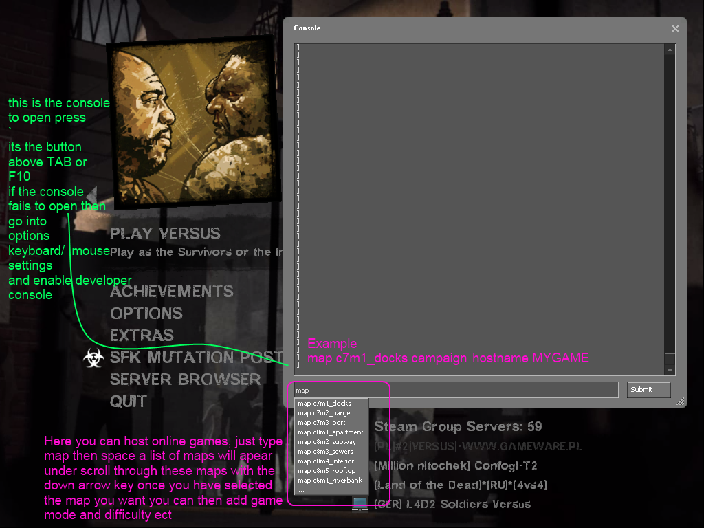 how to play left 4 dead 2 on garena