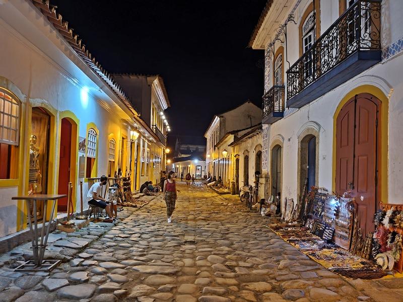 Rua do comercio Paraty