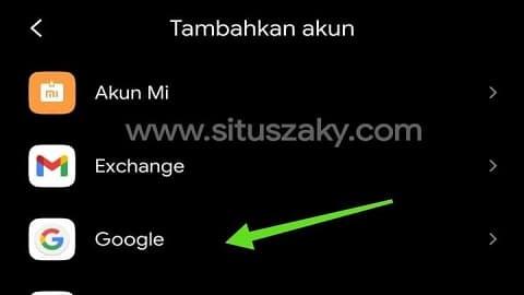 membuat akun google di android dan laptop