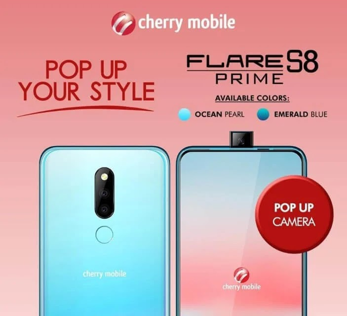 Cherry Mobile Flare S8 Prime Now Available in Ocean Pearl and Emerald Blue Colors