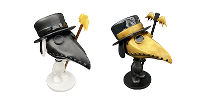 "Peanuts ""Plague Doctor"" Snoopy Resin Figure by Raid71 x Bottleneck Gallery"