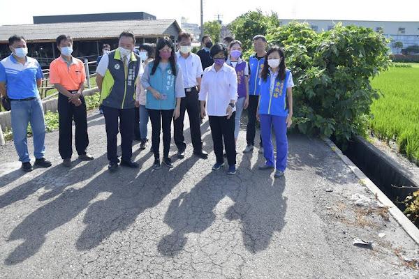 秀水福興花壇12條農道路斥資3千萬改善 花壇金墩街治水見成效