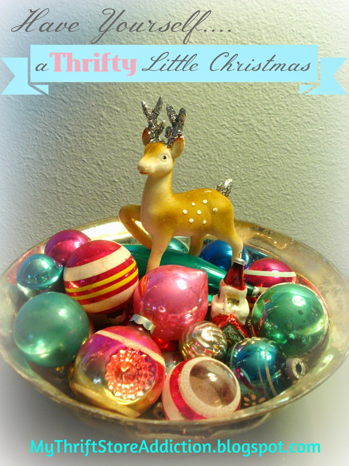 Thrifty Little Christmas home tour