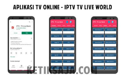 aplikasi tv offline tanpa tv tuner dan internet