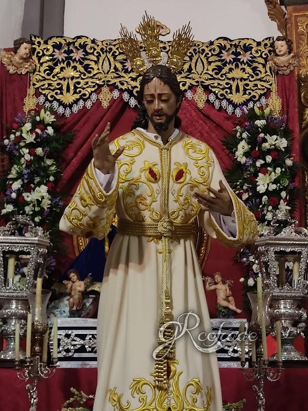 BENDECIDA LA IMAGEN DE JESÚS DE LA SALUD de CHURRIANA DE LA VEGA