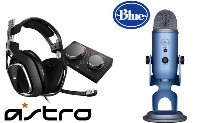 Sorteio Headset Gamer Astro A10 ou Microfone Blue Yeti