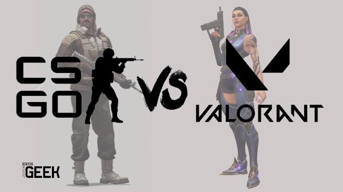 Valorant vs Counter-Strike: Global Offensive