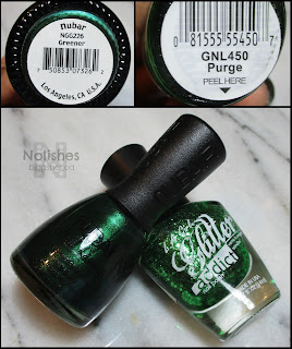 Nubar Greener, and L.A, Girl Glitter Addict 'Purge'