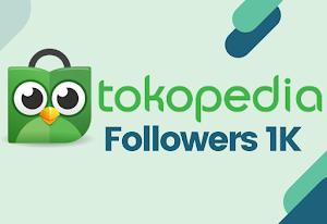 Followers / Pengikut Tokopedia
