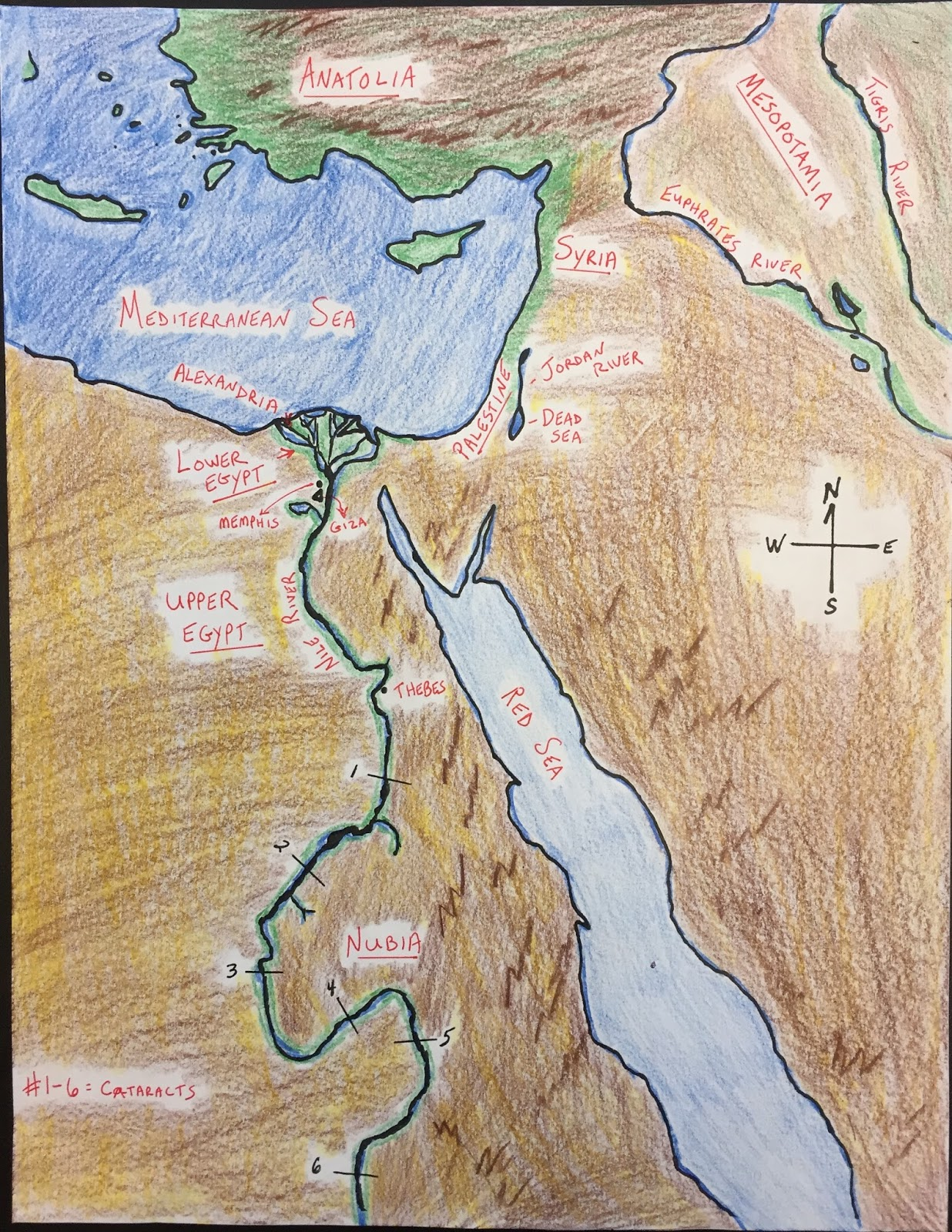 Ancient egypt maps year 7 maps of ancient egypt u2014 nationsinsoc ancient egypt maps ancient egypt map gumiabroncs Image collections