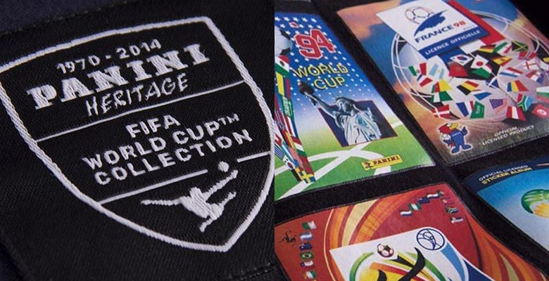 45c0fa7cd Now retro shirt specialists COPA and Panini have teamed up to create a  range of ten special Panini Heritage FIFA World Cup collection t-shirts.