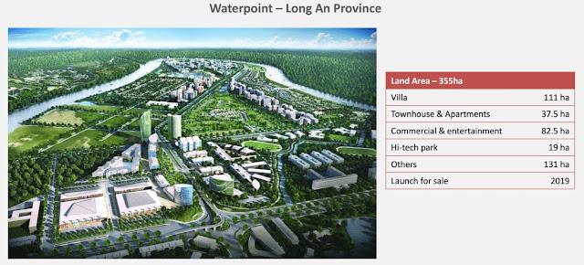 Điểm nhấn tiện ích tại khu đô thị Waterpoint Nam Long