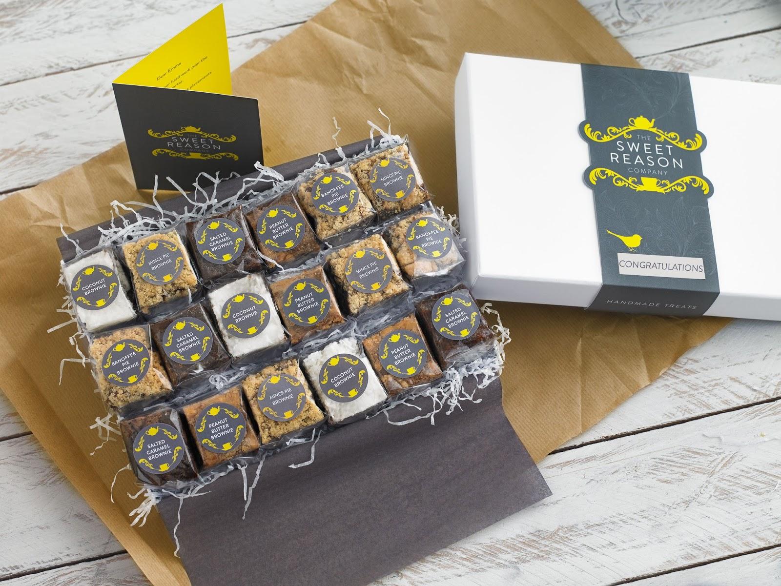 The Sweet Reason Company Indulgent Brownie Box